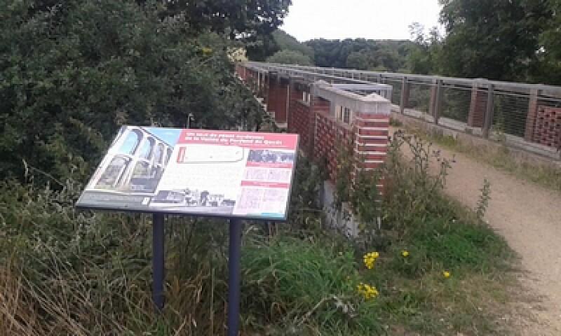 Viaduc du Parfond du Gouët ou viaduc de la Percée