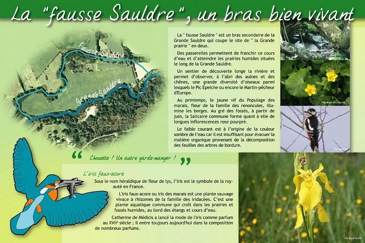 Sentier de la Grande Prairie à Pierrefitte-sur-Sauldre