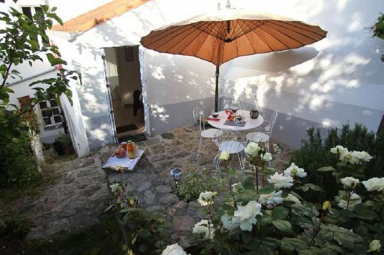 Maisonnette avec jardin clos à Pornic