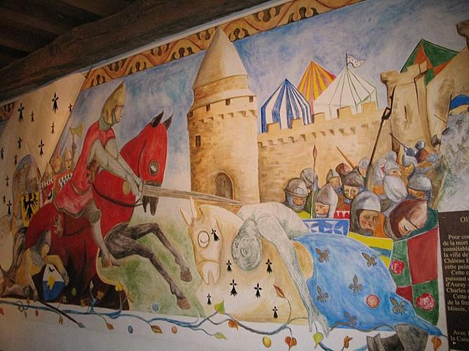 CHATEAU DE BLAIN - MONUMENT HISTORIQUE