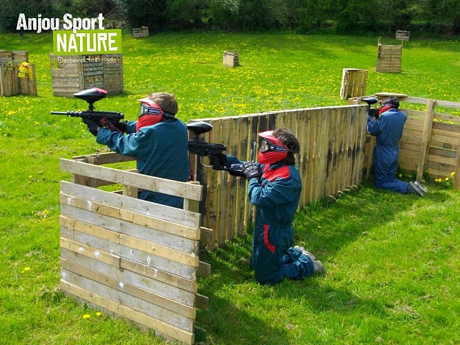 ANJOU SPORT NATURE - PAINT-BALL