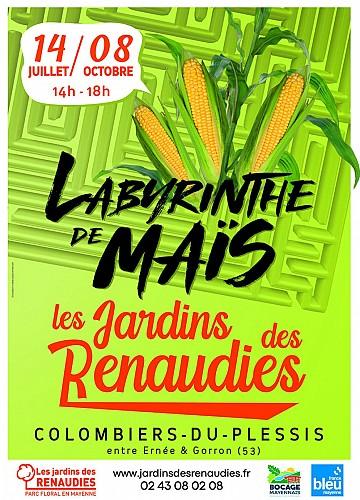 LABYRINTHE DE MAÏS AUX JARDINS DES RENAUDIES