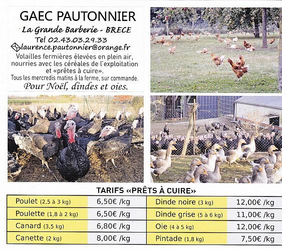 VOLAILLES DU GAEC PAUTONNIER