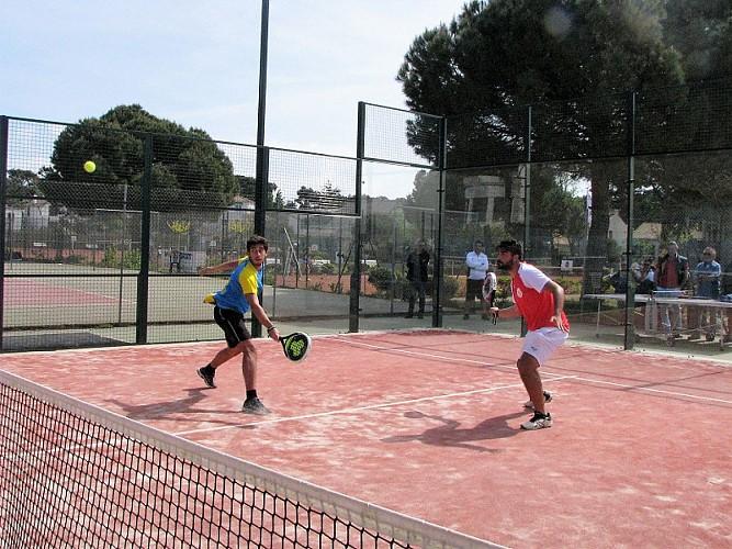 PADEL À LA BAULE TENNIS CLUB