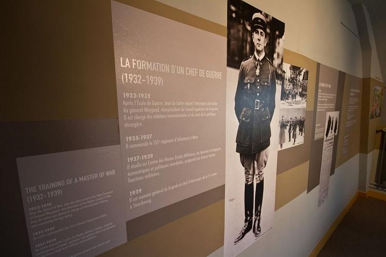 MUSEE NATIONAL CLEMENCEAU-DE LATTRE : LA MAISON NATALE DE JEAN DE LATTRE, MARÉCHAL DE FRANCE