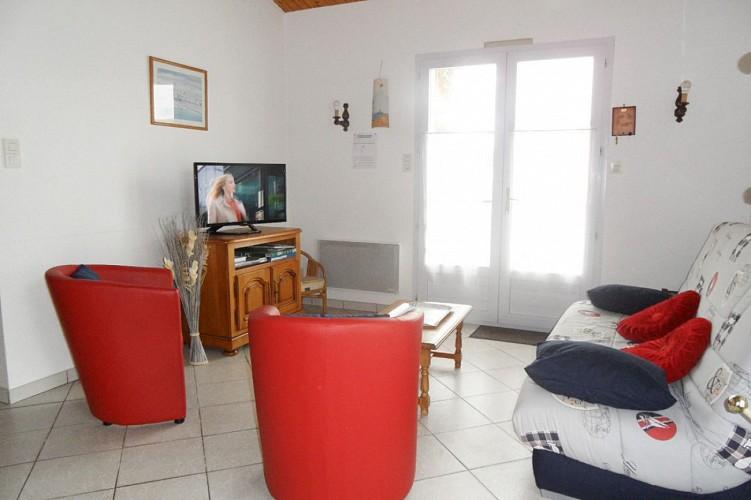 Maison NOIRMOUTIER en l'ile lumineuse et calme wifi