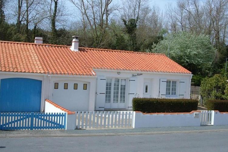 Maison à 400m de la plage sur l'Ile de Noirmoutier