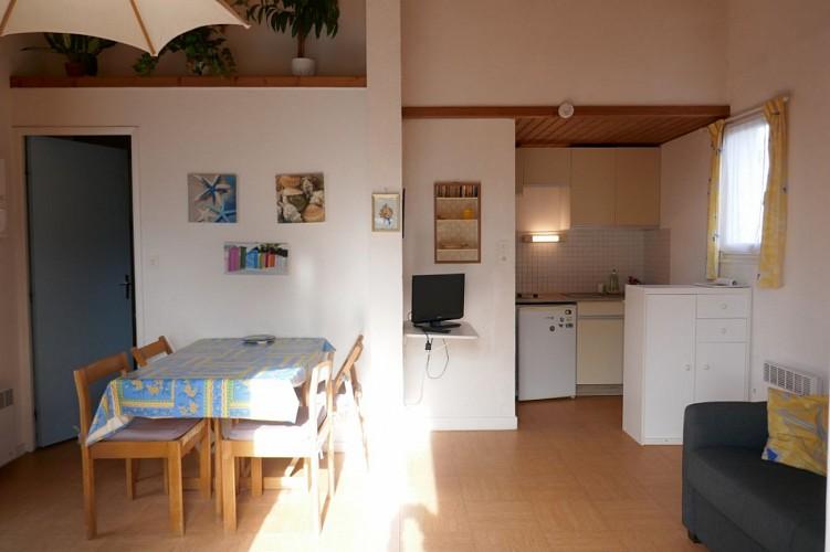 Appartement dans résidence calme et arborée à Noirmoutier en l'île