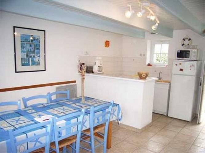 Maison proche de l'océan sur l'île de Noirmoutier
