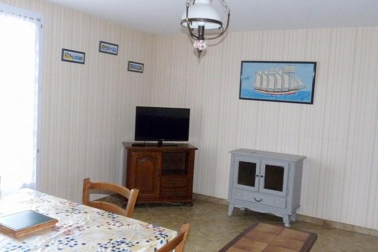 Maison au calme à 300m de la plage sur l'île de Noirmoutier