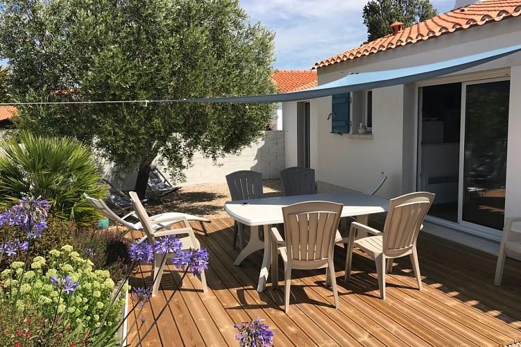 """Location """"Fleur de Sel"""" à deux pas de la plage sur l'île de Noirmoutier"""