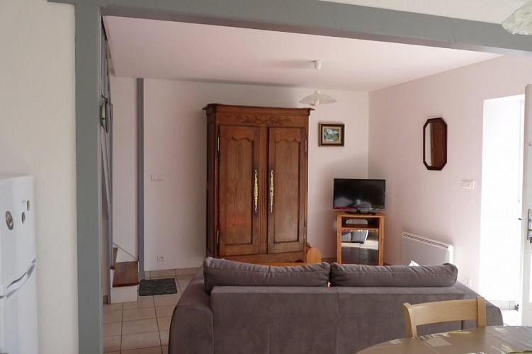 Dans le quartier du Petit Vieil, sur l'île de Noirmoutier, maison entièrement rénovée