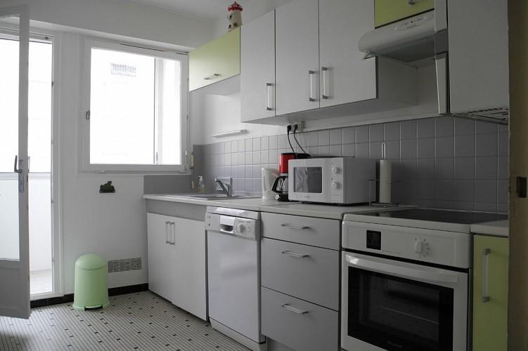 Appartement face mer