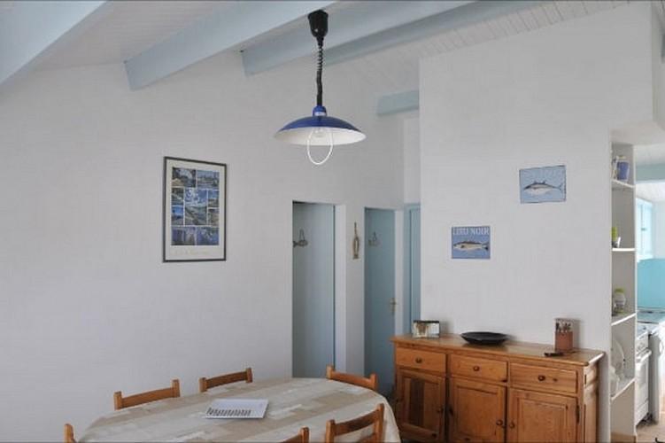"""Maison """"l'Oiseau Bleu"""" sur l'Ile de Noirmoutier"""