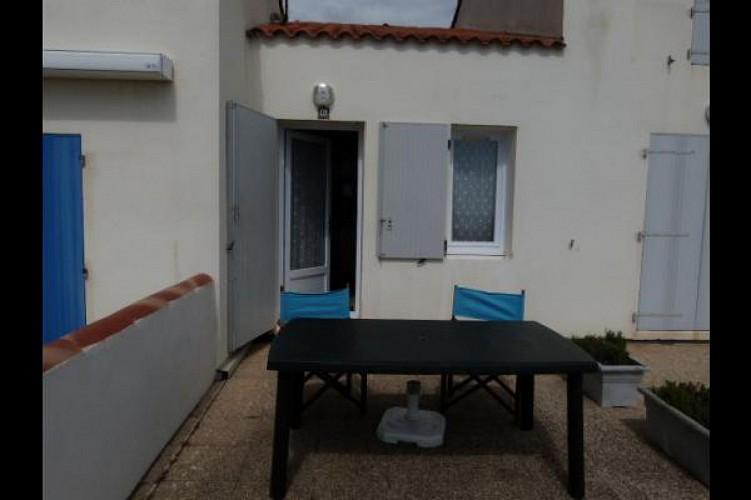 Ile de Noirmoutier - Maisonnette dans résidence face mer