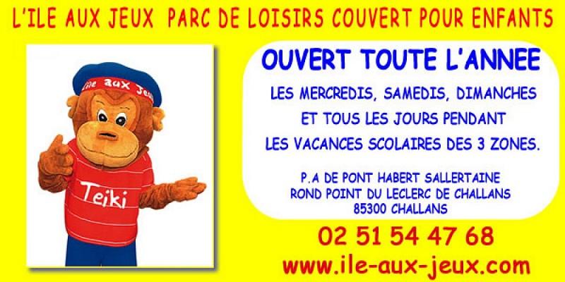 L'ILE AUX JEUX CHALLANS