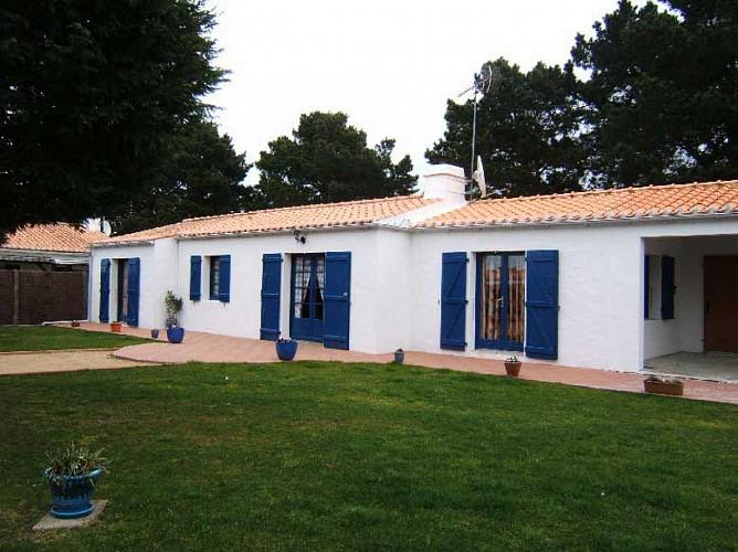 Maison proche plage des Sableaux à Noirmoutier en l'île