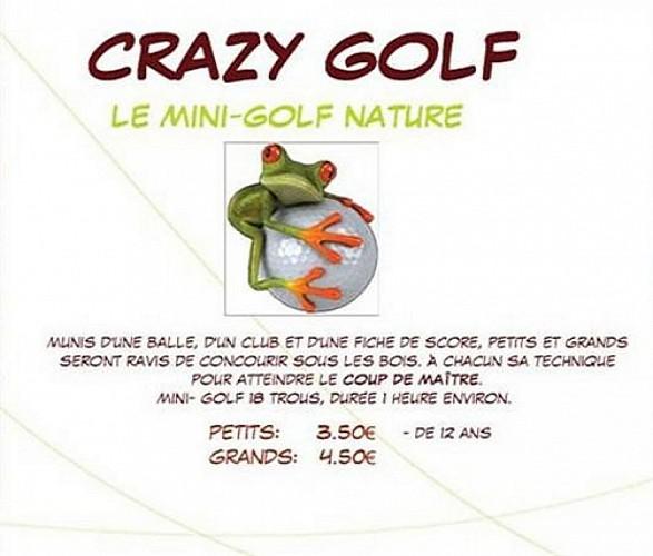 CRAZY GOLF - LE MINI-GOLF NATURE
