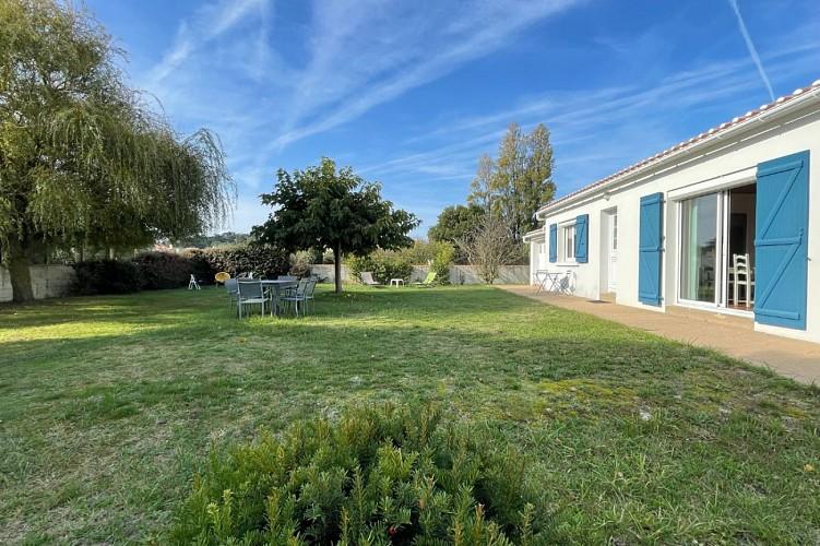 île de Noirmoutier - Maison proche de la plage et du bourg de Barbâtre