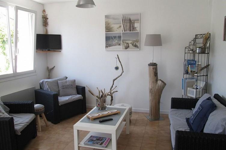Ile de Noirmoutier - maison de plain pied avec jardin