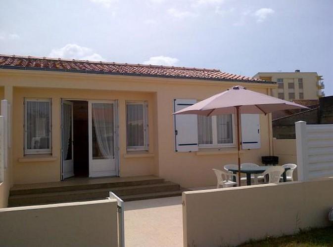 Maison mitoyenne proche de la plage à Saint Jean de Monts