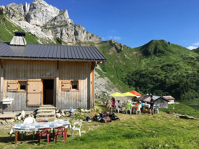 Moutain refuge of Lessy