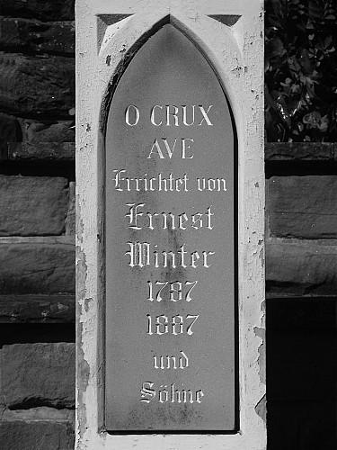 La Croix Winter et le monument dédié aux Américains