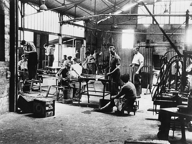 Le quartier de la cristallerie Lalique
