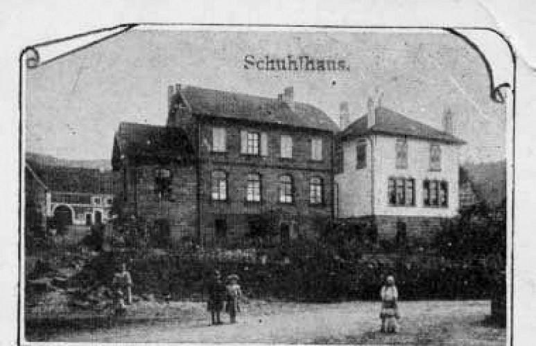 Le quartier de la mairie, ancien site verrier