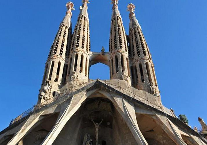 Visite guidée de la Sagrada Familia : Billet coupe file