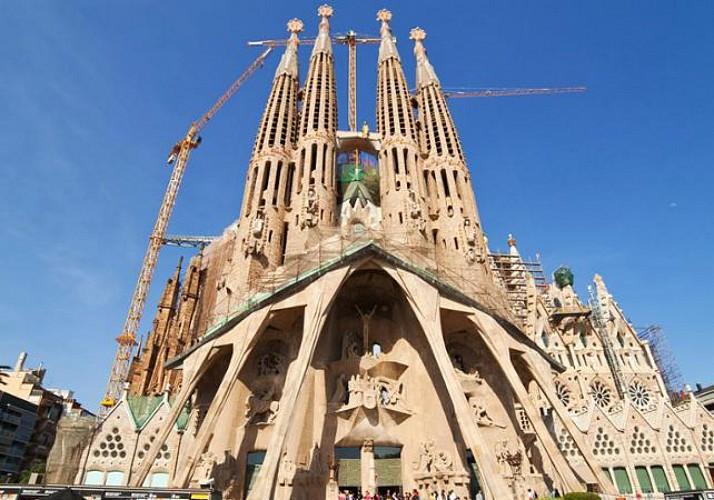 Visite guidée de la Sagrada Familia et des tours - Billet coupe-file