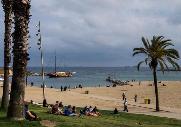 Visite guidée à vélo de Barcelone - en français
