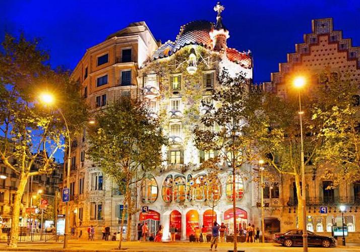 Billet coupe-file Casa Batlló avec vidéoguide
