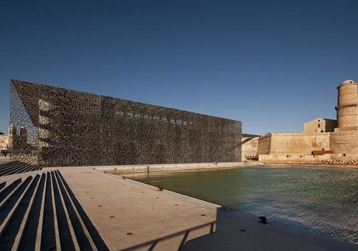 Billet coupe file MuCEM - Musée des cultures méditerranéennes à Marseille