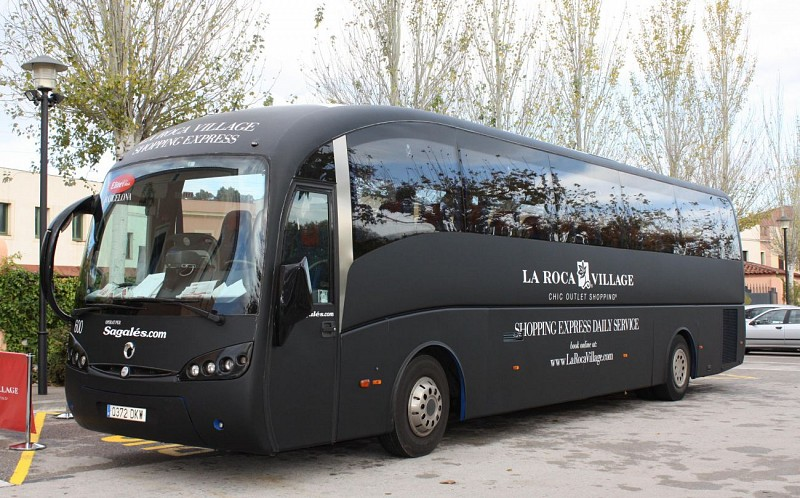 Shopping Day at La Roca Village – Shuttle pick-up/drop-off in Barcelona
