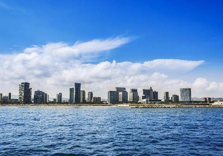 Barcelone en bateau – Croisière d'1h30 sur la Méditerranée