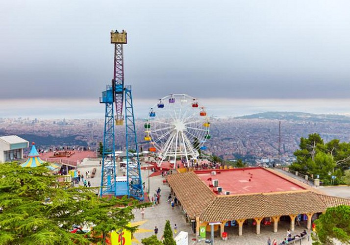 Ticket to the Tibidabo Amusement Park in Barcelona