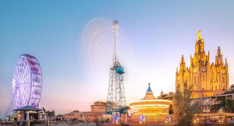 Billet - parc d'attraction Tibidabo de Barcelone