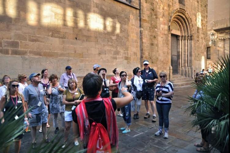 Visite à pied du quartier gothique de Barcelone