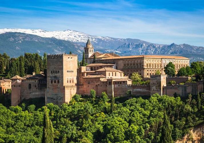 Visite guidée à pied de l'Alhambra à Grenade – départ/retour hôtel