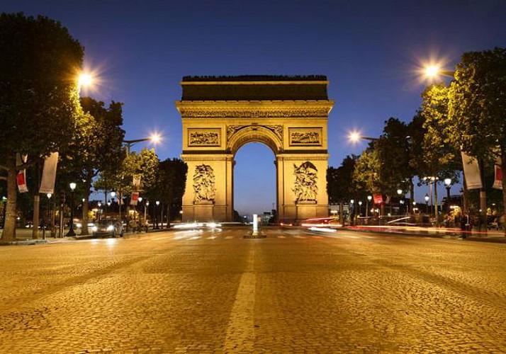 Evening Bus Tour of the Paris Illuminations