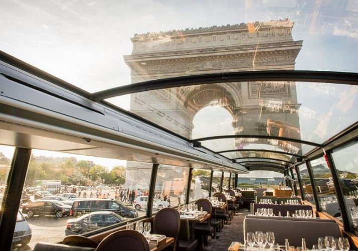 Lunch on a Double-Decker Bus: The Bustronome