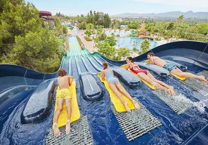 Billet Parc aquatique Costa Caribe de Port Aventura 1 jour transport depuis Barcelone inclus
