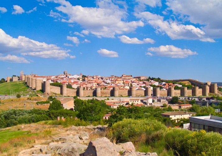 Visite guidée en petit groupe à Ávila et Ségovie - au départ de Madrid
