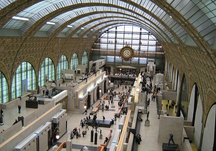 Visite du Musée d'Orsay avec audioguide – Billet coupe-file