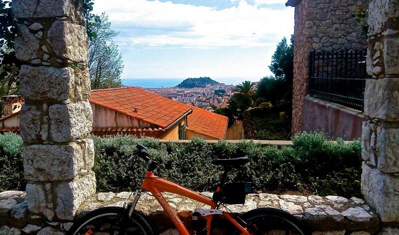 Visite guidée à la découverte des 7 collines niçoises en vélo électrique