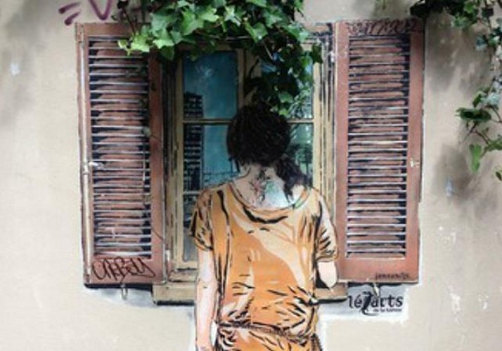 Visite Street Art à la Butte aux Cailles