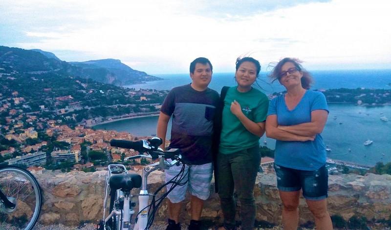Visite guidée sur la Côte d'Azur en vélo électrique – Au départ de Nice