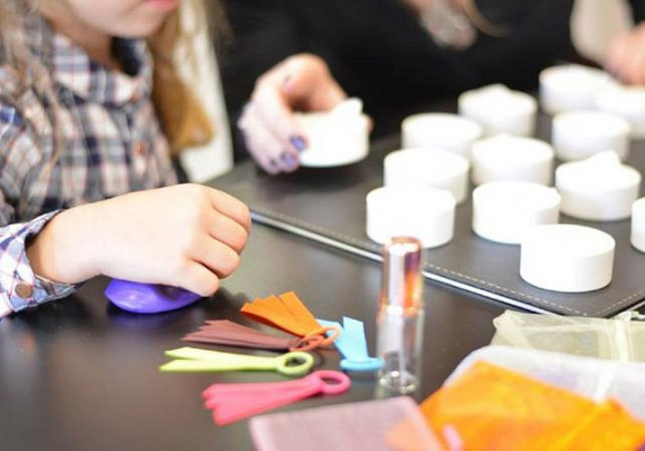 Children's perfume creation session – Molinard Perfumery in Nice