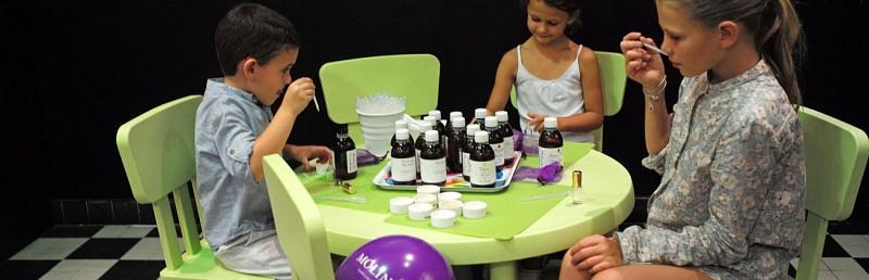 Le Petit Parfumeur Children's  Perfume Workshop – Molinard Perfumery in Grasse